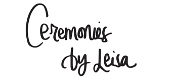 Ceremonies by Leisa